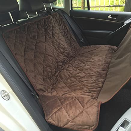 Anself Non-slip Pet Car Back Seat Cover Water-proof Dog Safety Hammock Protector Mat