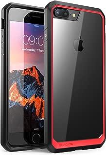 SUPCASE Unicorn Beetle Series Case Designed for iPhone 8 Plus, Premium Hybrid Protective Clear Case for Apple iPhone 7 Plus 2016 / iPhone 8 Plus 2017 Release (Red)