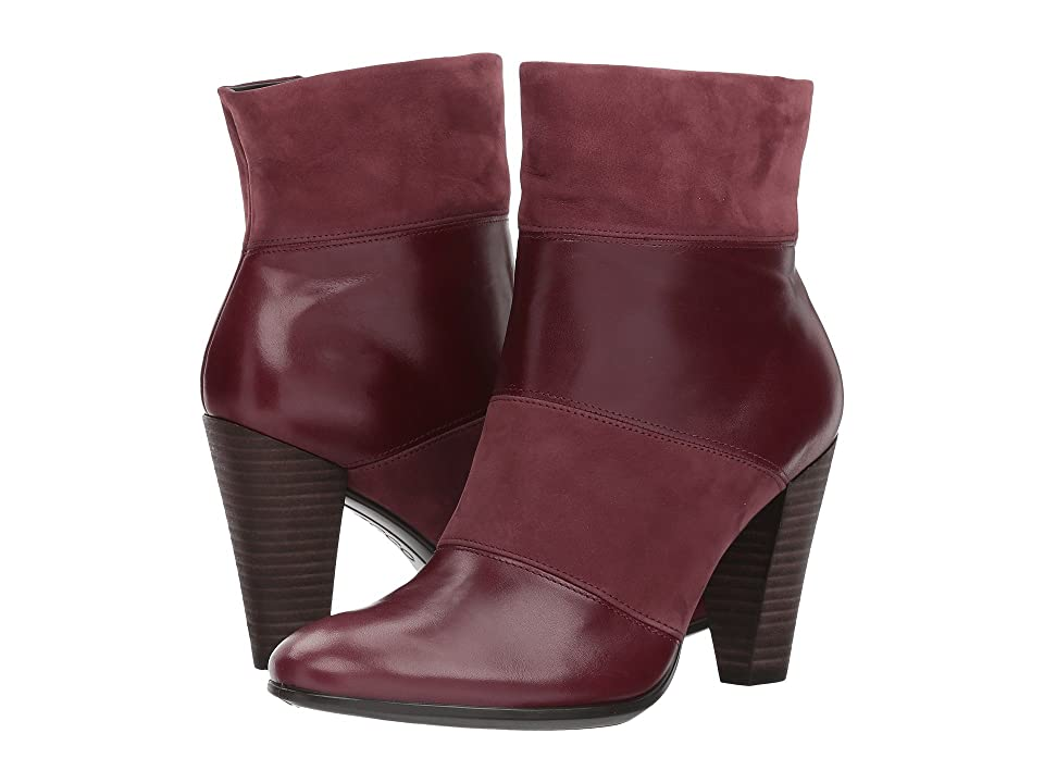 ECCO Shape 75 Modern Boot (Bordeaux/Bordeaux) Women