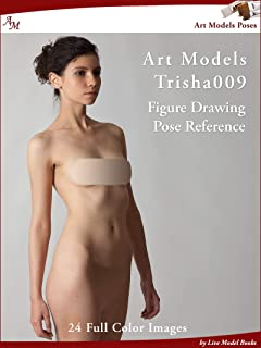 Art Models Trisha009: Figure Drawing Pose Reference (Art Models Poses) (English Edition)