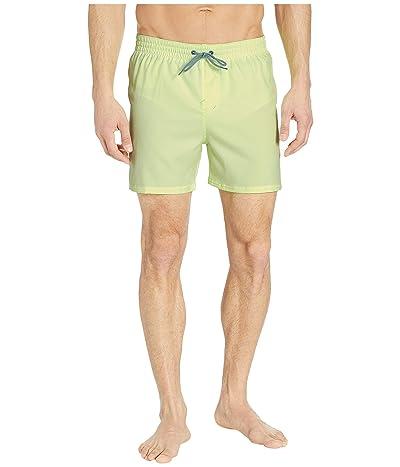 Nike 5 Solid Vital Volley Shorts (Barley Volt) Men