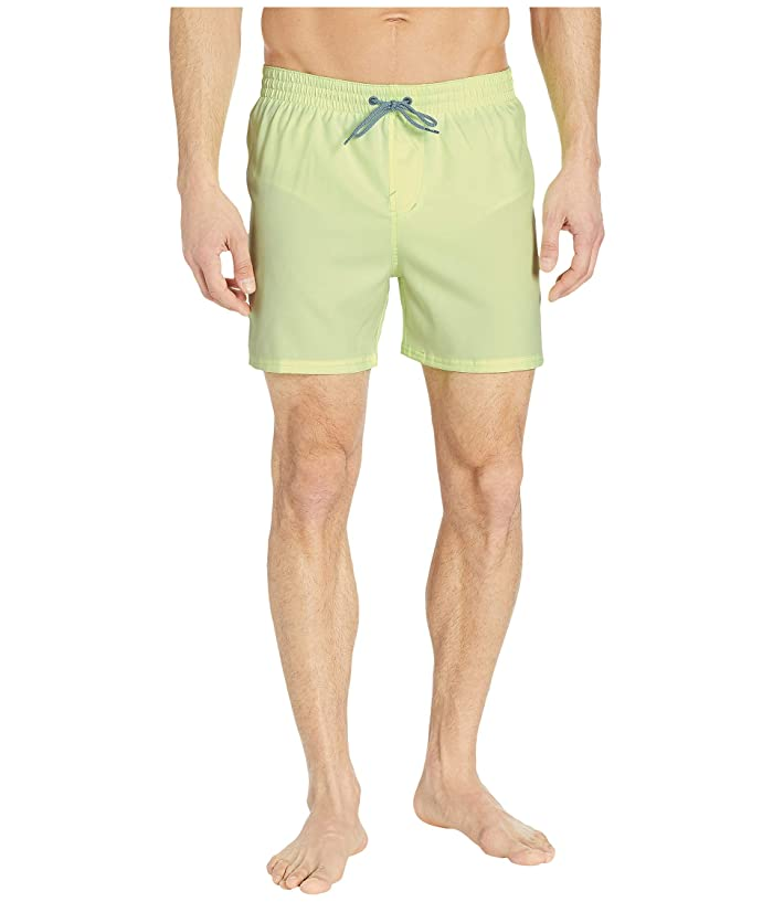 Nike 5 Solid Vital Volley Shorts (Barley Volt) Men