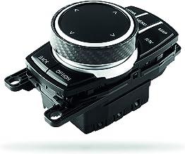 Leepesx Car Multimedia Pulsante Copertura Manopola Cornice Trim Controller Solo Ceramica per Pulsante iDrive per BMW 1 2 3 4 5 6 Serie X1 X3 X4 X5 X6