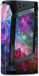 Skin Decal Vinyl Wrap for Smok Alien 220w TC Vape Mod stickers skins cover/ Colorful Space Gasses