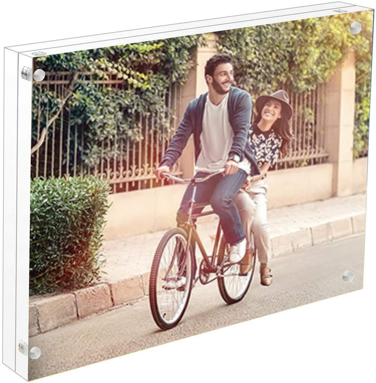 Cq Max 67% OFF Ranking TOP7 acrylic 4x6 Acrylic Frame 10 Magnetic Clear Picture Frames