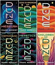 Complete Dune Series Set ( 6 Books ) Dune; Dune Messiah; Children of Dune; God Emperor of Dune; Heretics of Dune; Chapterhouse Dune