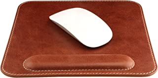 Londo Genuine italian Leather Mousepad with Wrist Rest