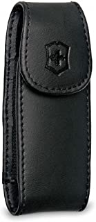 Victorinox Swiss Army Leather Clip Pouch - Black
