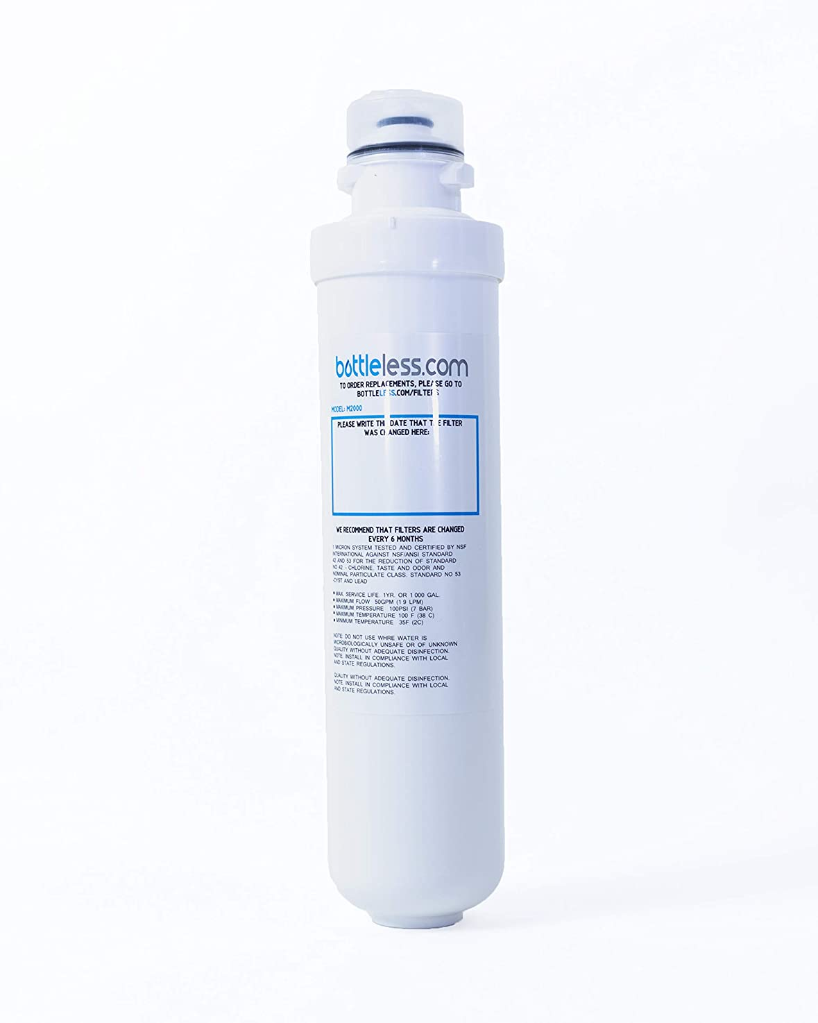 M2000 Replacement Filter for Bottleless Water Coolers