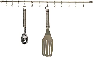 Kitchen Craft KCRACKDL - Barra de acero inoxidable para