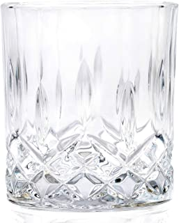 RCR 6 Pieces Glass Cups Set, 210 ml, Clear