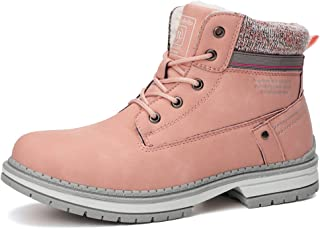 Botas Mujer Botines Zapatos Invierno Botas de Nieve Cálido Fur Forro Aire Libre Boots Urbano Fiesta Oficina Caminando Senderismo 36-41