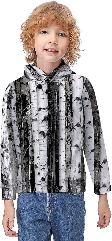 ODOKAY Boys Girls Sturdy Hooded Long Sleeve Hooded Printed Winter Pullover