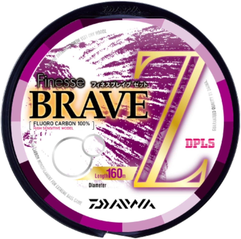 Daiwa (Daiwa) flugoldcarbon line finesse Brave Z 160m 5lb clear
