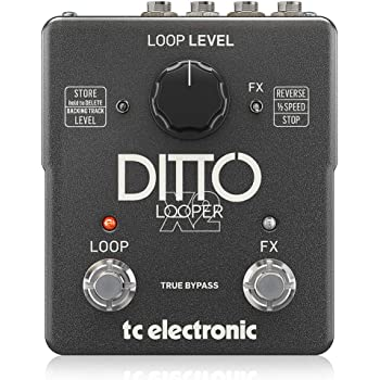 TC Electronic DITTO X2 LOOPER - Pedal de fraseo/looping, True Bypass