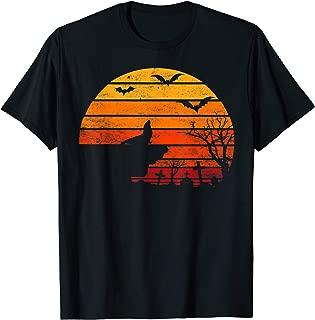 Retro Vintage Sunset Seal Halloween Costume Animal Lover T-Shirt