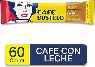 Café Bustelo Coffee, Instant Beverage Mix Sticks, Café Con Leche, 60 Count