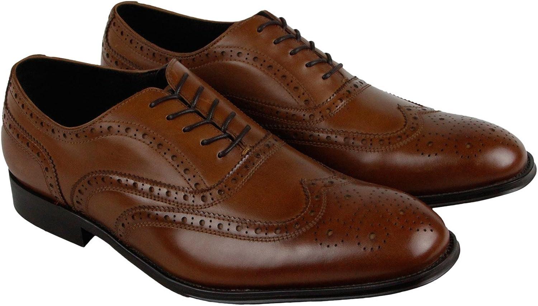 Kenneth Cole Design 10521 Men's Leather Oxford (11, Cognac)