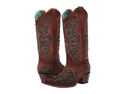Corral Boots E1508 (Honey) Women