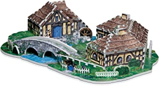 The Hobbit Hobbiton 3D Jigsaw Puzzle, 363-Piece