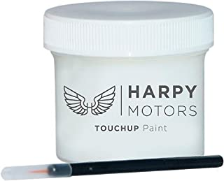 Harpy Motors 2oz Touch up Paint with Brush Compatible with 2002-2002 Honda Odyssey NH578-4 Taffeta White -Color Match Guaranteed