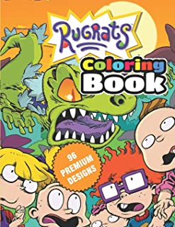 Rugrats Coloring Book: Great Coloring Book For Kids and Adults - Rugrats Coloring Book With High Quality Images For All Ages