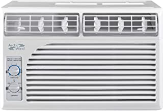 ARCTIC Wind 5,000 BTU Window Air Conditioner with Mechanical Controls, ba