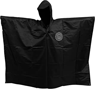 SEAL3 Rain Poncho-Waterproof-Hooded-Heavy Duty PVC Raincoat-Gear. Outdoor Multi-Use-Hunting,Backpack,Survival, Emergency,M...
