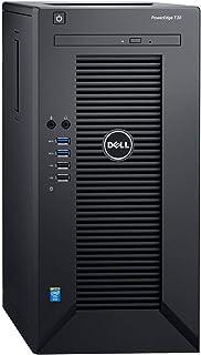 Dell PowerEdge T30 Tower Server - Intel Xeon E3-1225 v5 Quad-Core Processor up to 3.7 GHz, 32GB DDR4 Memory, 2TB (RAID 1) ...