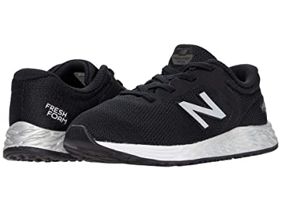 New Balance Kids Fresh Foam Arishi v2 Bungee (Infant/Toddler) (Black/Silver) Boy