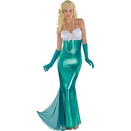 Sirène Femmes Déguisement Conte De Fée Princesse femme adulte Costume Outfit 10-14