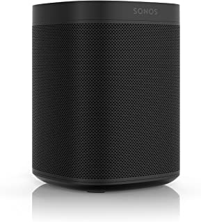 All New Sonos One with $50 Amazon Gift Card 1 Speaker 878269003588 Black