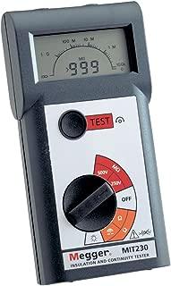 Megger MIT230-EN Insulation Tester, 1000 Megaohms Resistance, 250V, 500V, 1000V Test Voltage