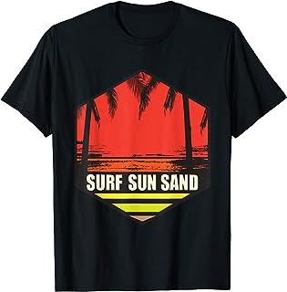 Surfing Sun Sand Travel Freedom Cadeau de vacances T-Shirt