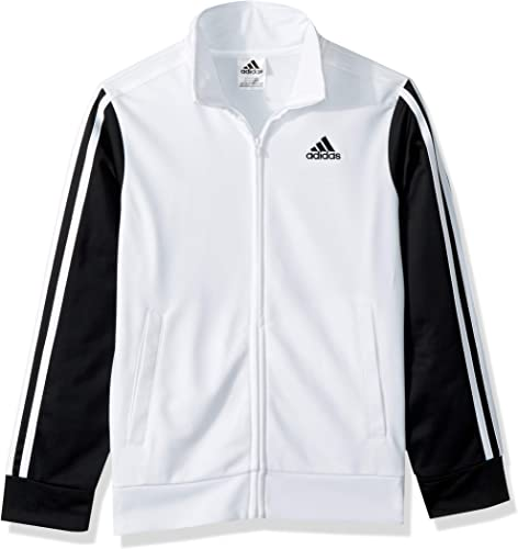 Adidas garçons' Big Tiro and Tricot vestes, blanc, S(8)