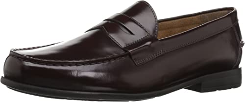 Nunn Bush Men's Drexel Loafer, Burgundy, 14 M US