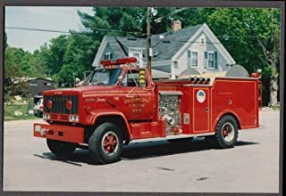 Brookline MA FD GMC Top Kick Farrar Pumper Engine #864 fire truck photo