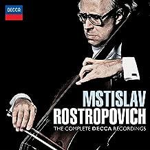 rostropovich complete decca recordings