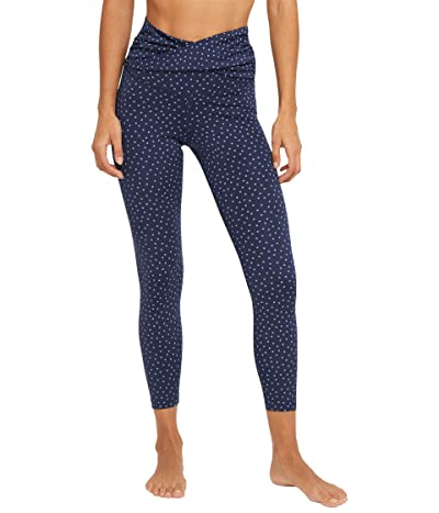 Nike NY Dots Twist 7/8 Tights (Midnight Navy/Ashen Slate) Women