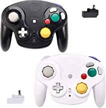 $45 » Wireless Gamecube Controllers, Classic Gamecube Wavebird Wireless wii Controller Remote Gamepad Joystick for Nintendo Game...