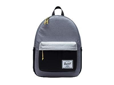 Herschel Supply Co. Classic X-Large (Mid Grey Crosshatch/Light Grey Crosshatch/Black) Backpack Bags