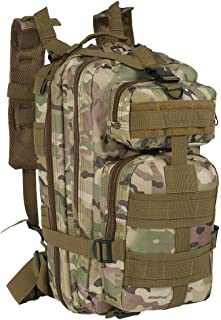 Military Tactical Backpack, 30L Army Backpack Large Assault Rucksack Multi-Functional Army Combat Cadets Travel Adult Dayp...