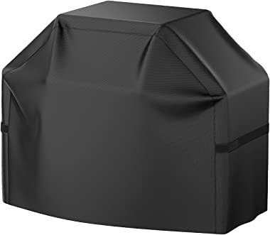 Grill Cover, 58 inch BBQ Gas Grill Cover Waterproof Weather Resistant, UV and Fade Resistant, UV Resistant Materia for Weber