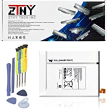 ZTHY 4000mAh EB-BT710ABE Battery Replacement for Samsung Galaxy Tab S2 8.0 WiFi LTE-A T710 T715 T719 3G/LTE T719N SM-T710 SM-T713 SM-T715 SM-T715C SM-T719Y Tablet EB-BT710ABA EB-BT710ABC 15.4Wh