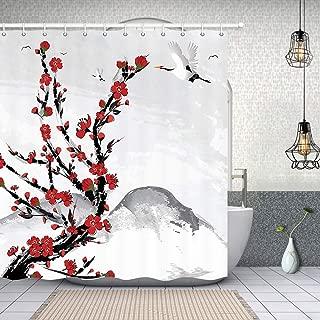 cherry blossom wallpaper red
