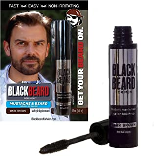 Colorante temporal para barba Blackbeard for Men de 12 ml color marrón oscuro