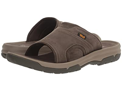 Teva Langdon Slide (Walnut) Men