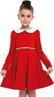 red smocked dress toddler