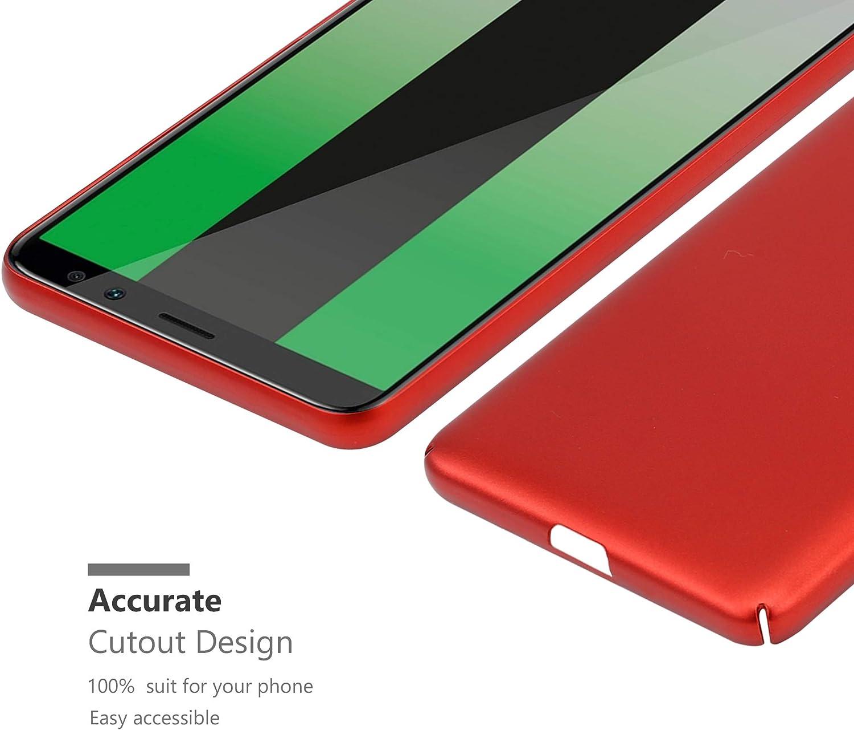 Cadorabo Coque pour Huawei Mate 10 Lite en Metallic Or Rose Ultra Slim Fin Hard Case Cover Bumper Housse Protection Rigide en Plastique Dur avec Anti-Choc et Anti-Rayures