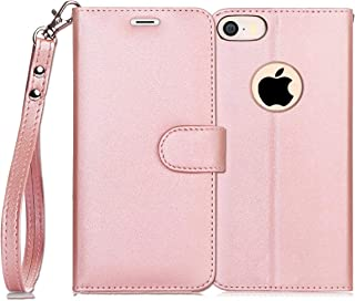FYY iPhone SE/iPhone 5S/iPhone 5 Case Luxury PU Leather Wallet Case, [Kickstand Feature] Flip Folio Case Cover with [Card ...